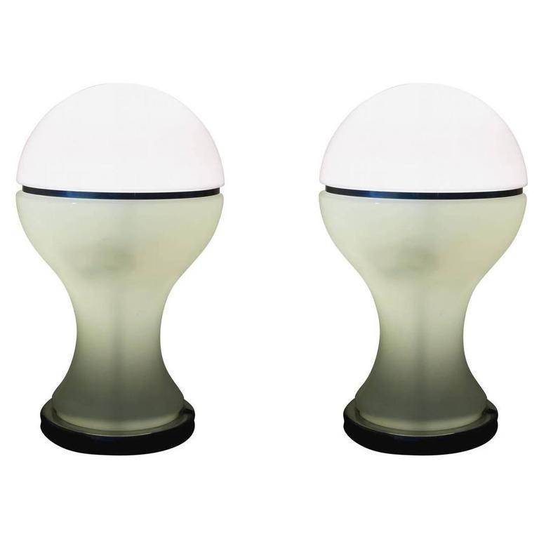 Gianni Celada, Fontana Arte, two table lamps