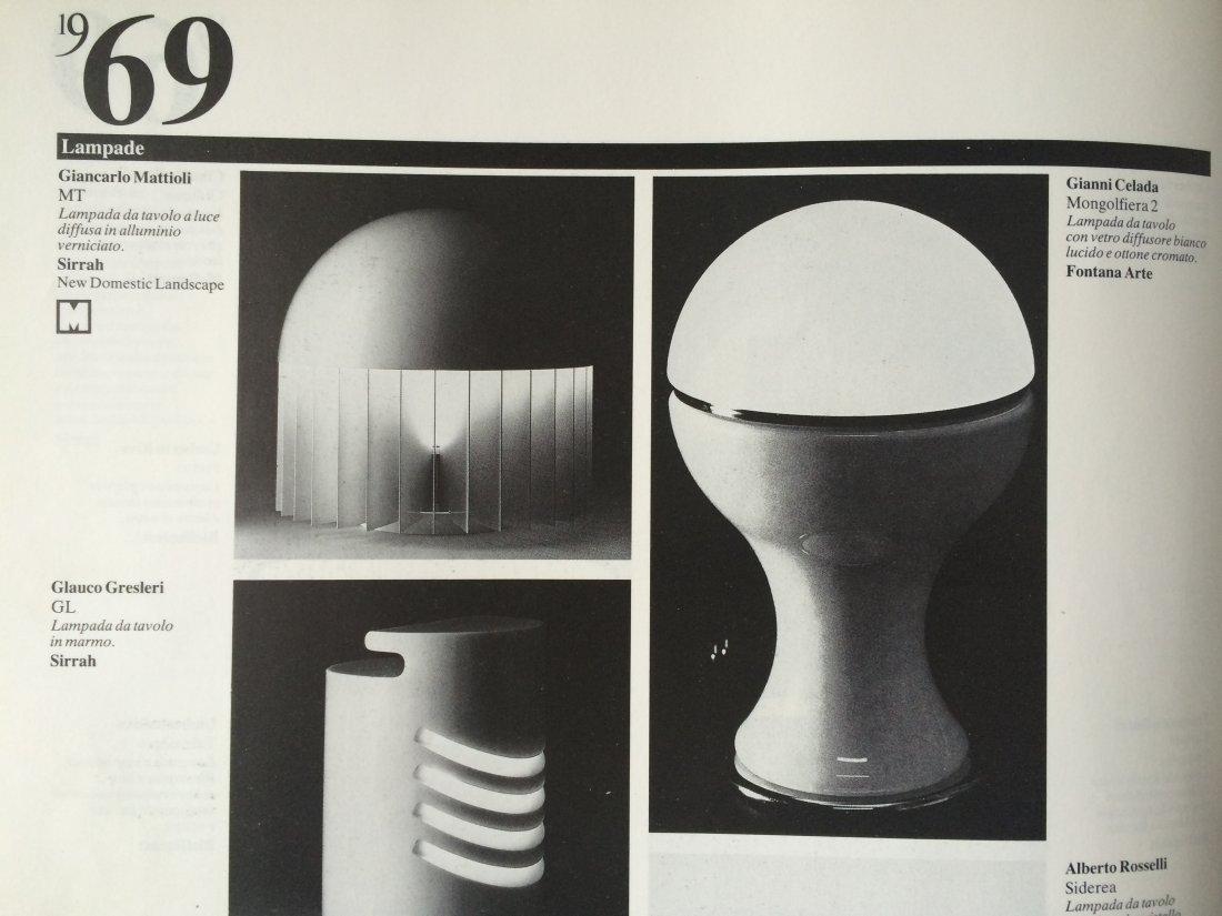 Gianni Celada, Fontana Arte, two table lamps - 5