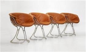 Gastone Rinaldi, 4 chairs Pan Am