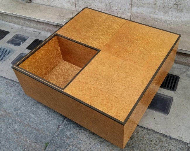 Willy Rizzo style, coffee table