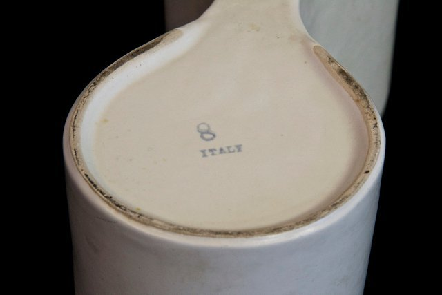 Italian Manufacture, two pottery - 4