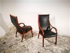 Gregotti Meneghetti e Stoppino SIM two armchairs