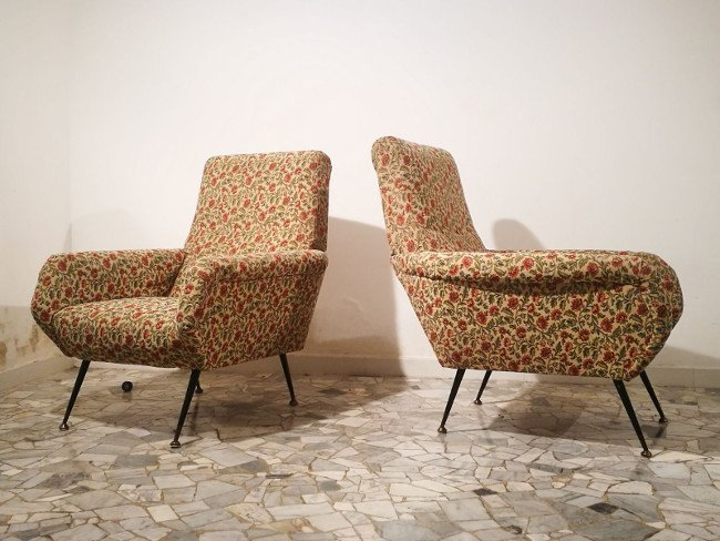 Italian Manufacture, two armchairs - 2