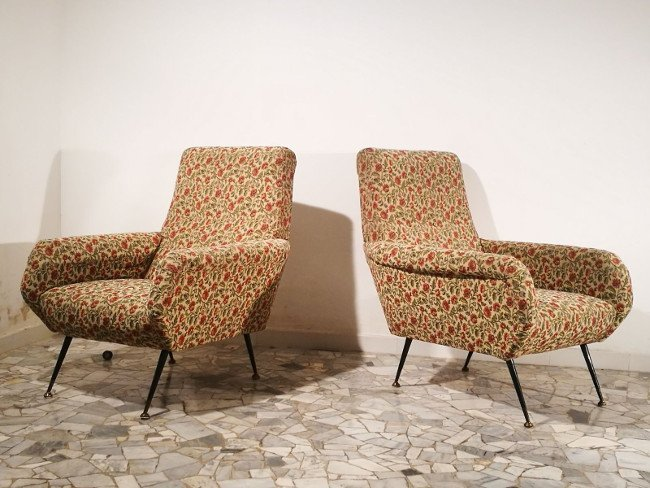 Italian Manufacture, two armchairs - 3