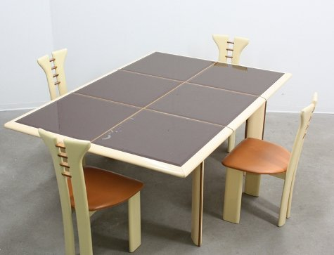 Pier Cardin, chairs and table - 2