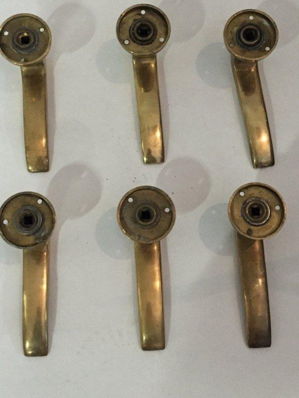 Gio Ponti, six door handles - 2