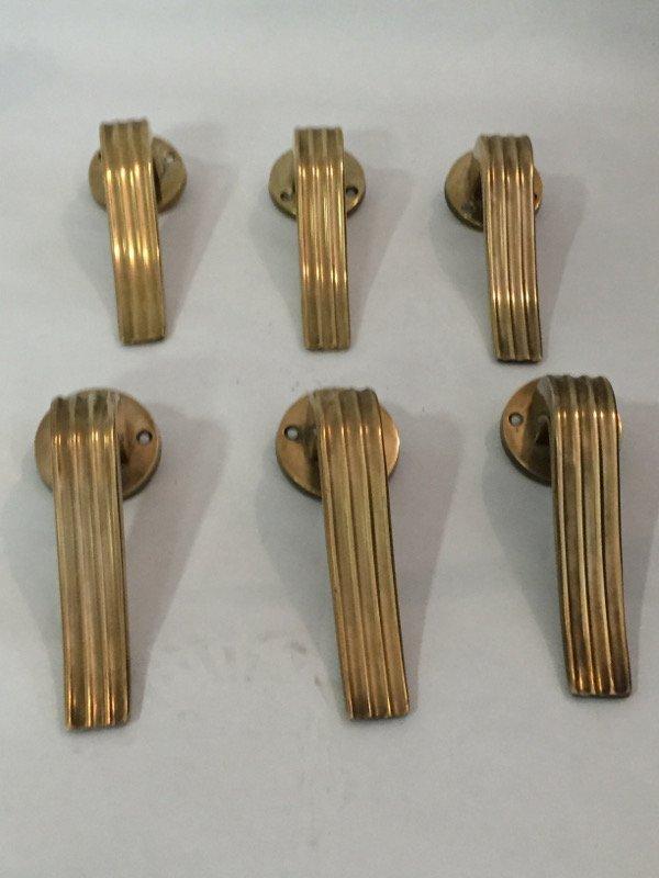 Gio Ponti, six door handles - 6