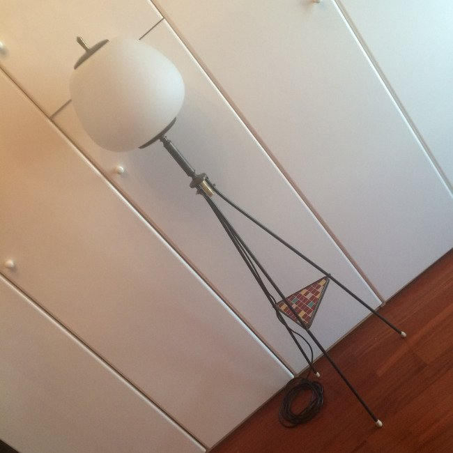 Italian Manufacture, floor lamp 1950