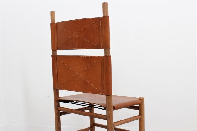 Carlo Scarpa, Bernini, 8 chairs - 6