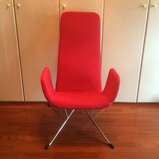 Alfredo Haberli, Zanotta, Milord lounge chair