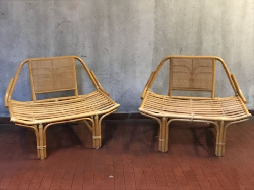 Italian Manufacture, two armchairs - 6