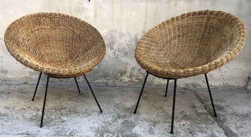 Italian Manufacture, two armchairs - 5