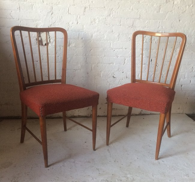 Paolo Buffa, two chairs 1940