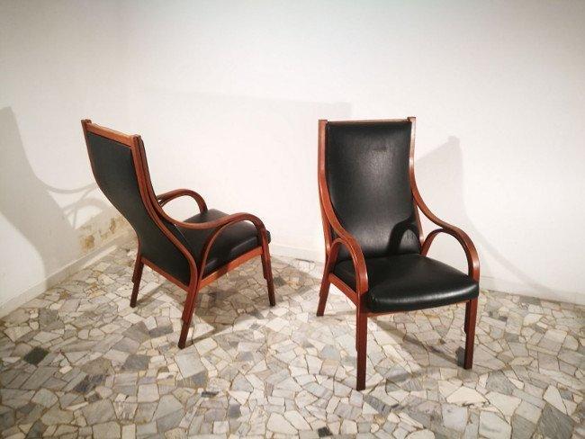Gregotti, Meneghetti e Stoppino, SIM, two armchairs