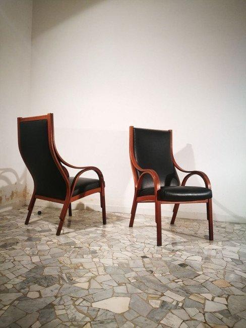 Gregotti, Meneghetti e Stoppino, SIM, two armchairs - 2