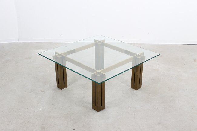 Willy Rizzo style, big coffee table