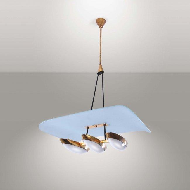 Arredoluce (attr.), hanging lamp