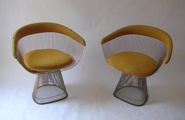 Warren Platner, Knoll, Couple of armchairs