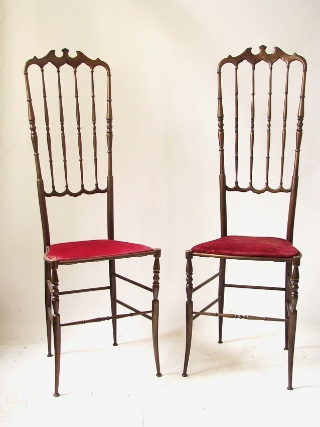 Italian Manufacture, couple of armchairs