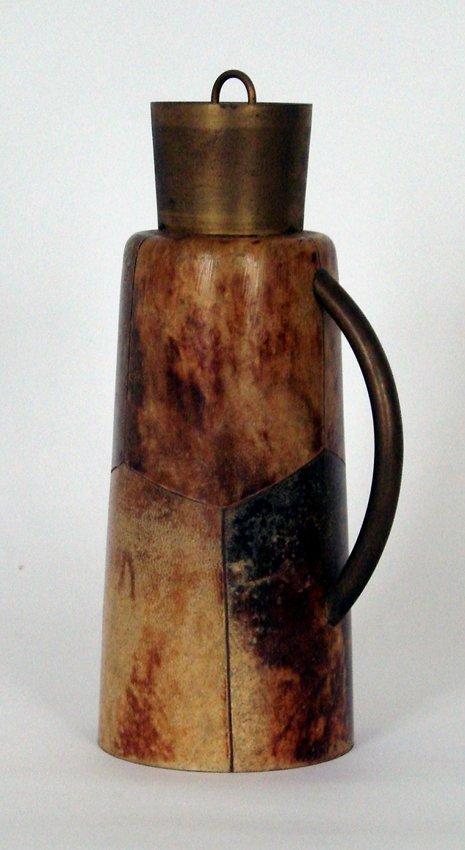 Wood Thermos Aldo Tura, 1950 ca.