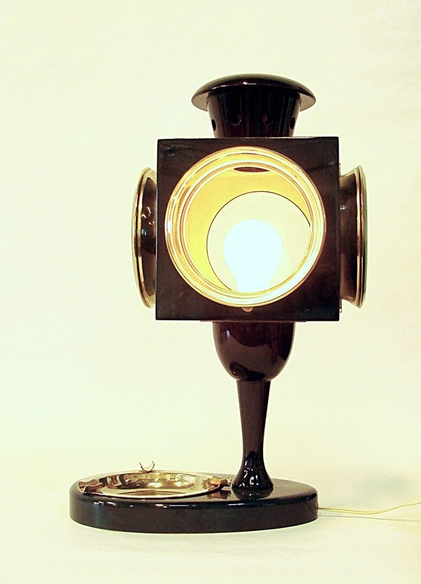 Aldo Tura, table lamp
