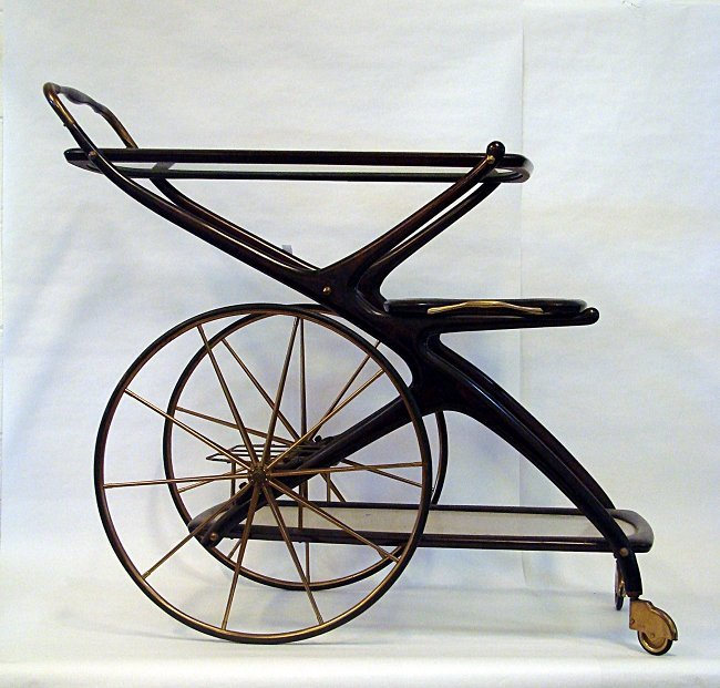Cesare Lacca, serving cart