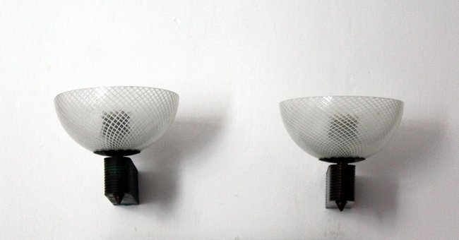 Italian Manufacture, two wall lamps