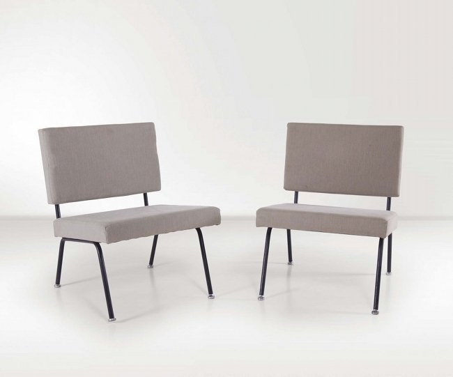 Knoll International, pair of chairs