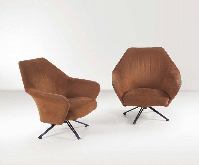 Tecno, Osvaldo Borsani, armchairs