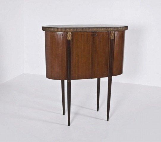 Paolo Buffa (attr.), cocktail cabinet