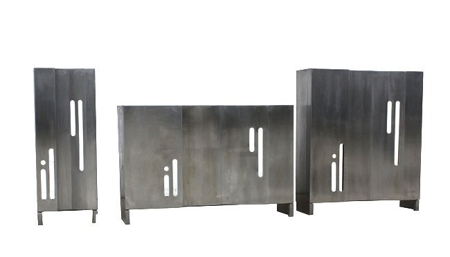 Italian Manufacture, three radiator covers