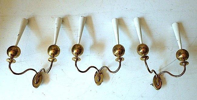 Lumi, three wall lamps