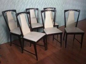 Osvaldo Borsani, Six Chairs