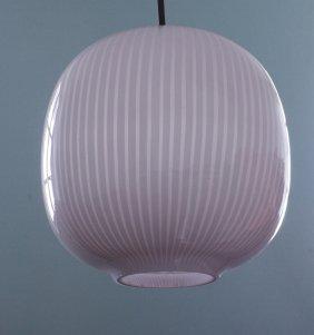 Massimo Vignelli, Venini, Hanging Lamp