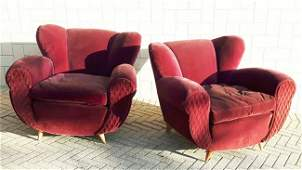 Italian Manufacture, two armchairs