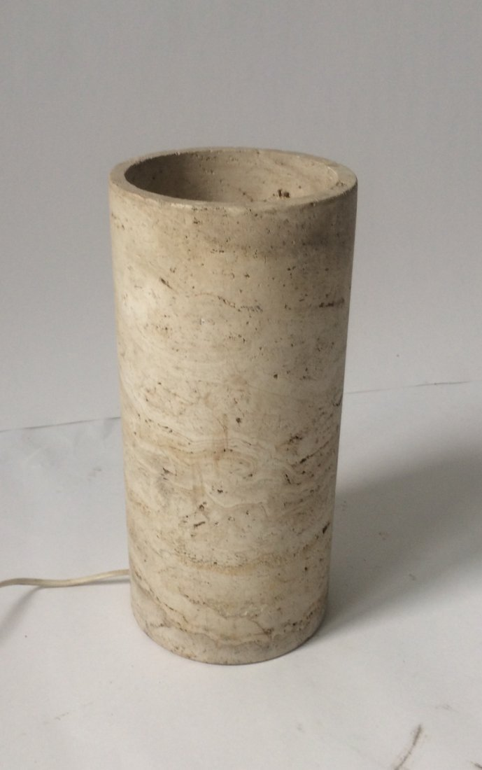 Sormani, Travertine lamp