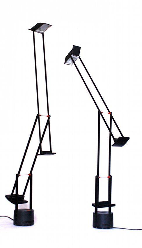 R. Sapper, Artemide, two lamps