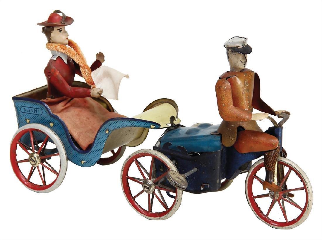 LEHMANN Motor-Road-Cycle, item-No. 470, 23 cm,