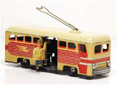 GÜNTHERMANN bus, with getting in person,