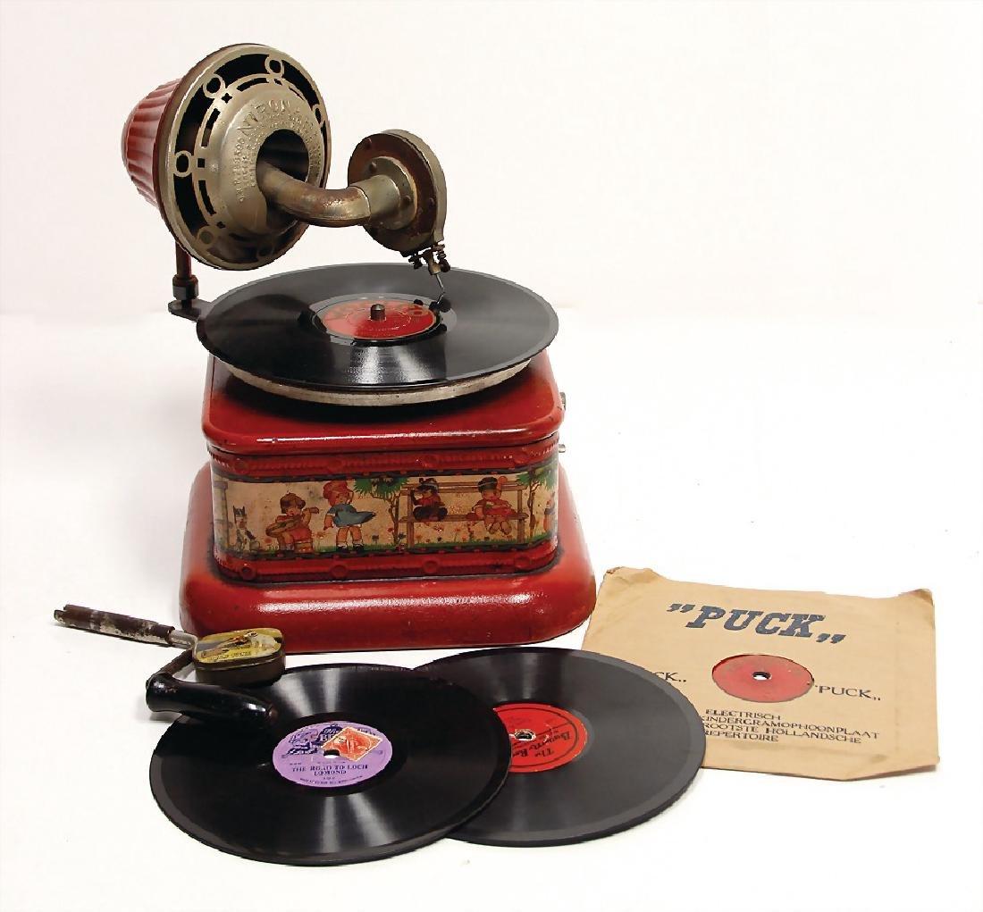 children's gramophone Nirona, heavy sheet metal