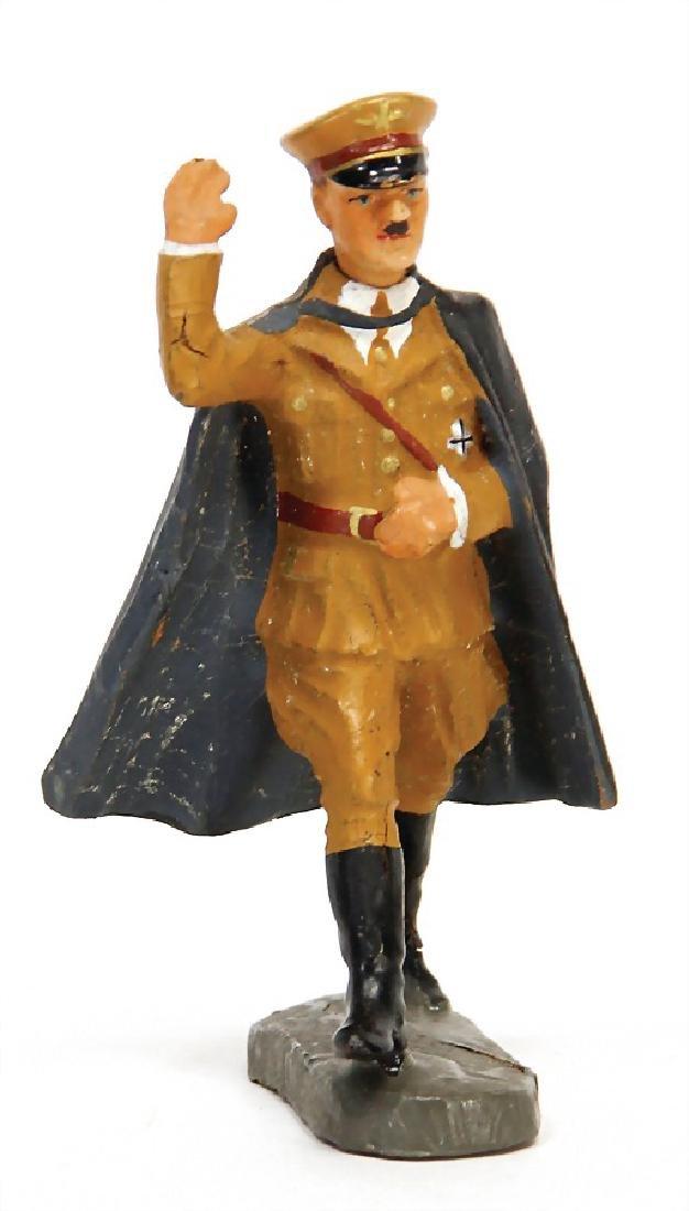 ELASTOLIN Hitler figure, 7.5 cm, with frock coat,