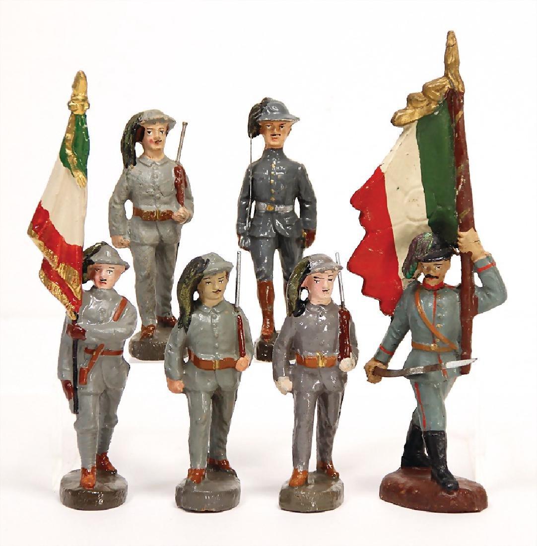 ELASTOLIN mass, 10 cm, First World War, Italian, 6