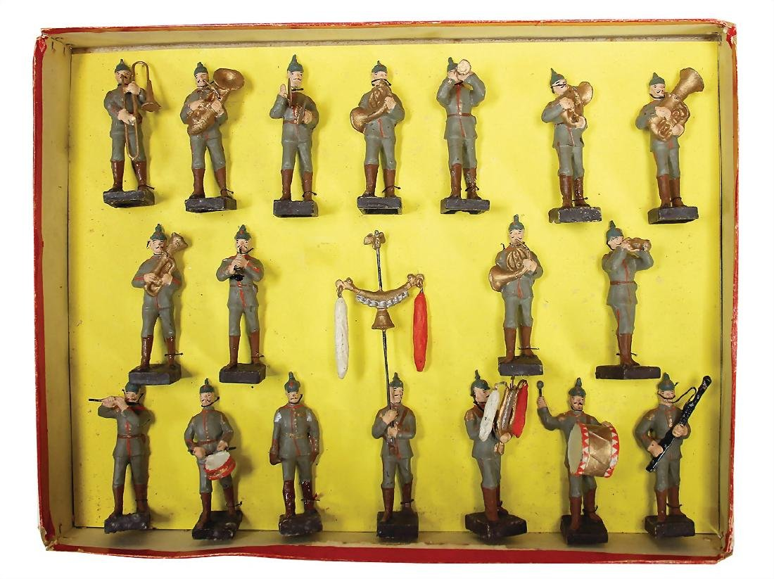 LINEOL musicians, marching, 8.5 cm, as good as new,