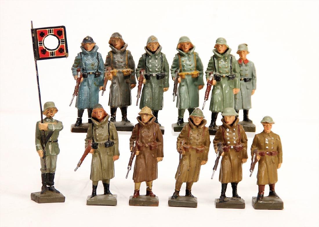 LINEOL 7/7.5 cm, mass, watchmen, different nations, 1
