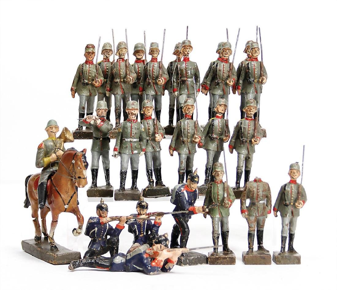 LINEOL mass, 8.5 cm, First World War, 1 rider,