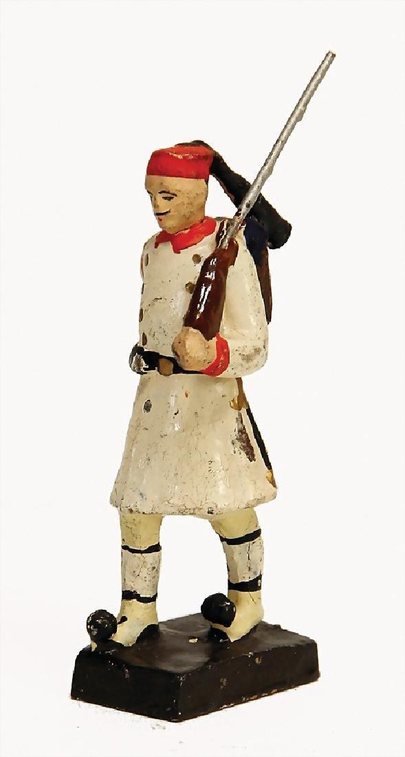 LINEOL 9 cm, Greek evzone, mass, First World War,