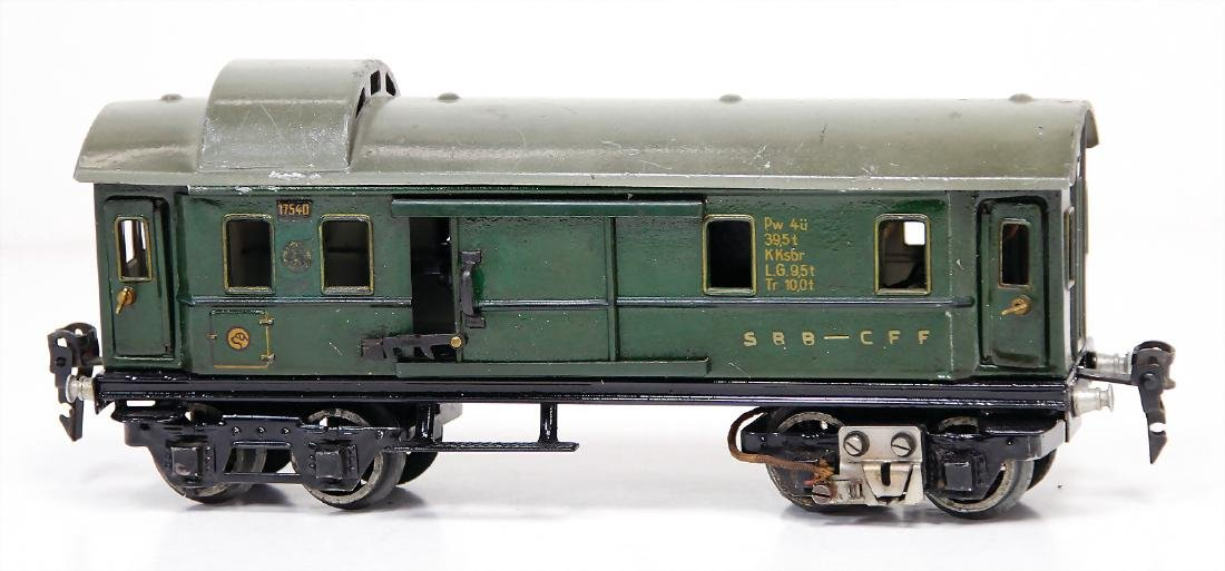 MÄRKLIN track 0, 1754, 4-axled freight waggon with