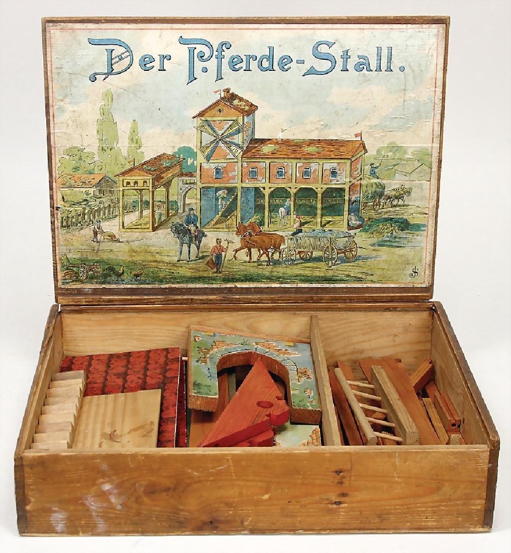 "construction kit, ""Der Pferdestall"", original"