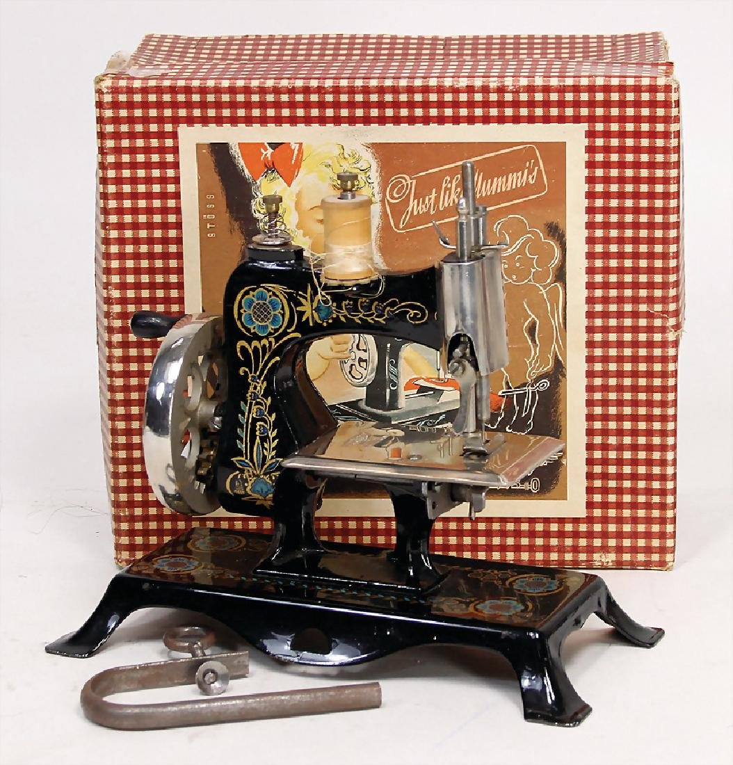 children's sewing machine, CASIGE, sheet metal, 19 cm