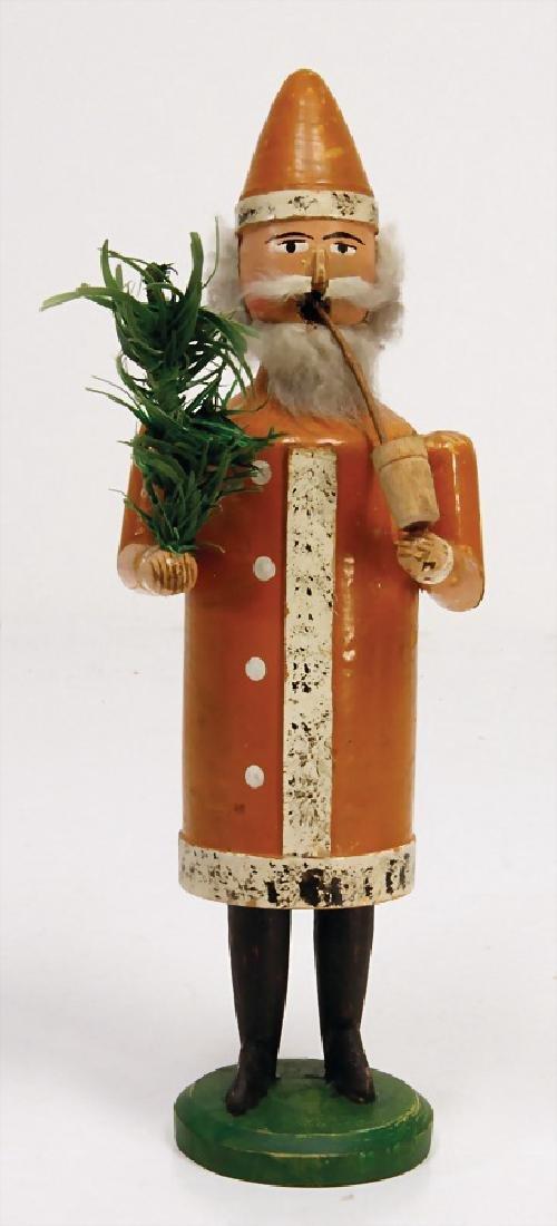 ERZGEBIRGE little smoking  man, Santa Claus,